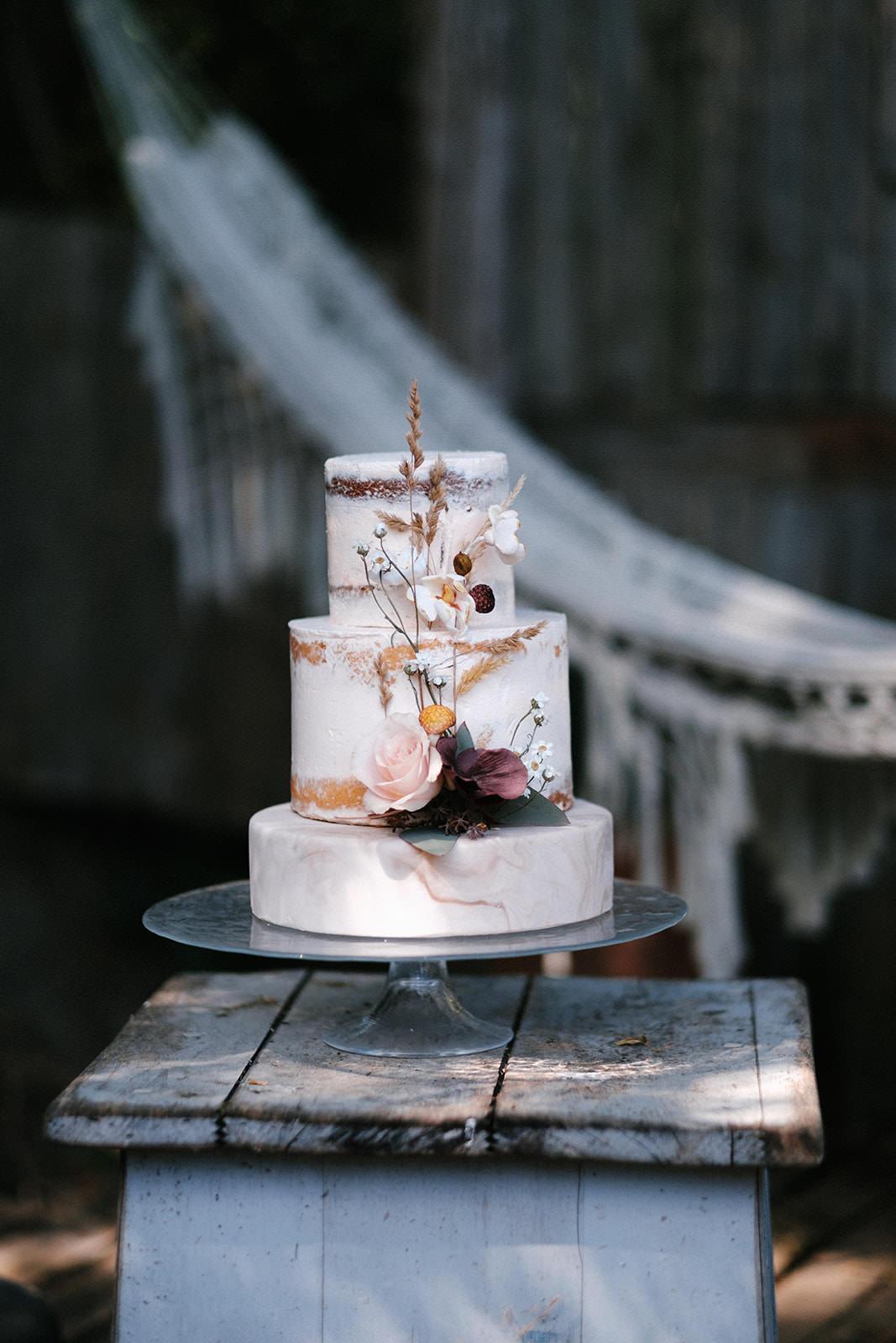 naked cake Mariage Angers